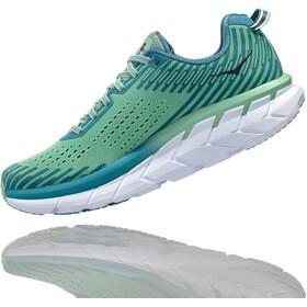 Hoka One One Clifton 5 Zapatillas running Mujer, lichen/storm blue